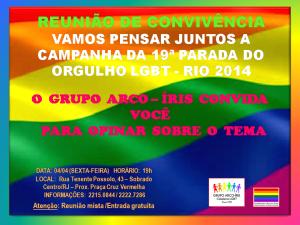 REUNIÃO DE CONVIVÊNCIA 040414