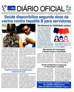 Diario Oficial Visibilidade Lesbica