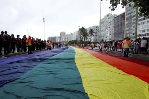 A Parada LGBT, em Copacabana | Thiago Freitas